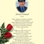 Acknowledgement special order A5 Letter KPS Memorial Cards